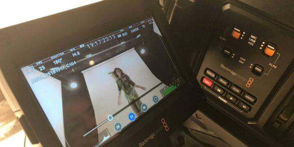 tournage en studio - vidéo clip