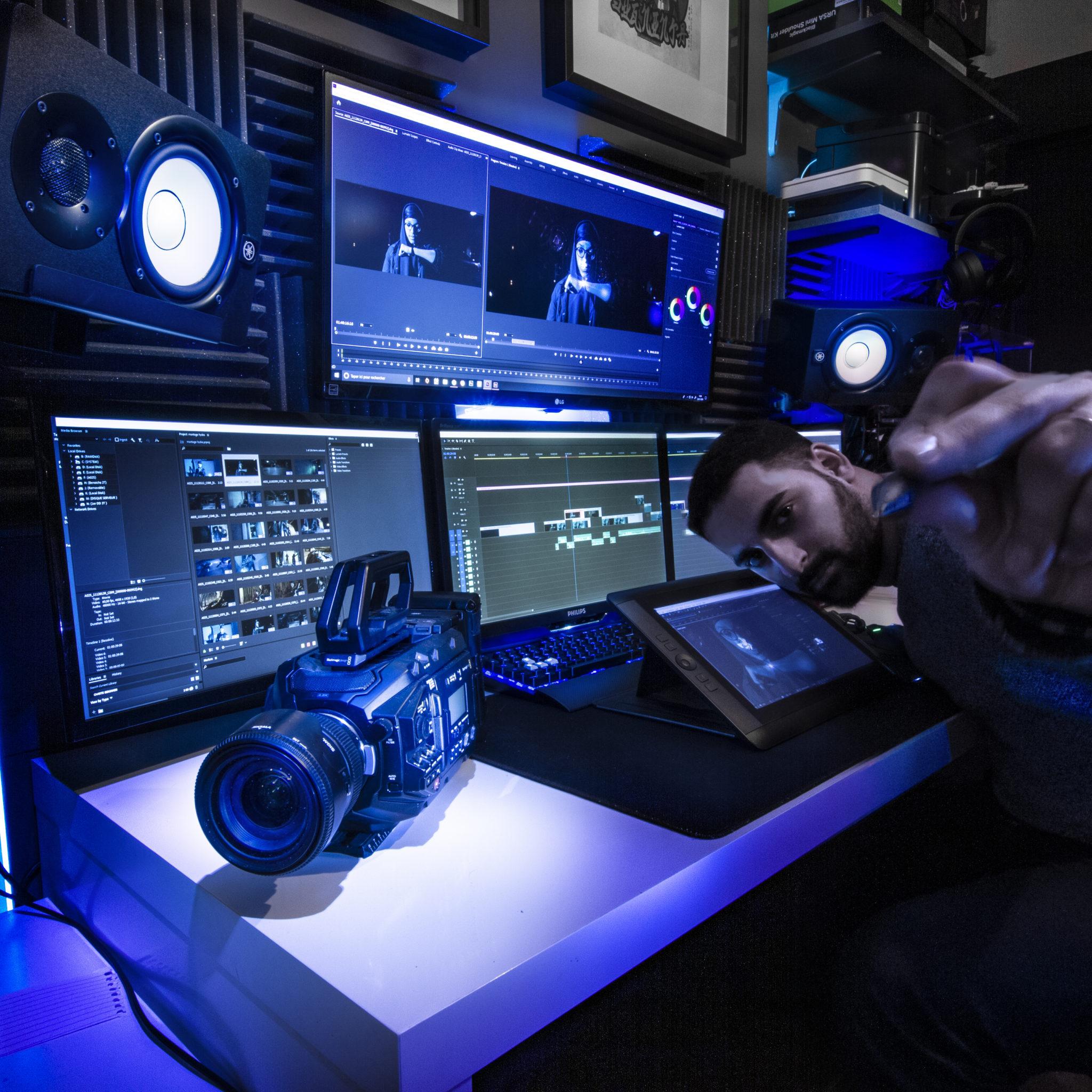 graphiste illustrateur motion designer
